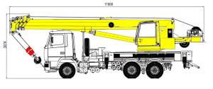 Кран 32 тонны