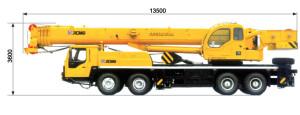Автокран 50 тонн, габарит